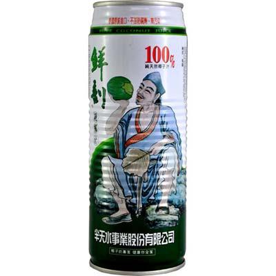 半天水 鮮剖100%純椰汁 (520ml x 6入)