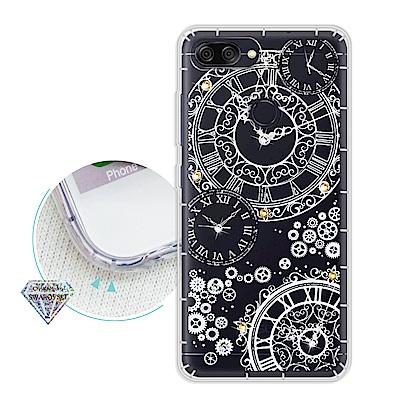 浪漫彩繪 ASUS ZenFone Max Plus ZB570TL水鑽氣墊殼(...