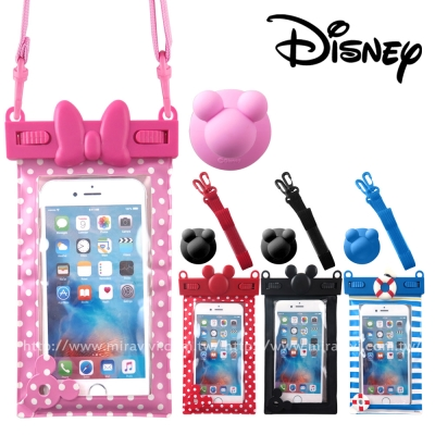 Hamee Disney迪士尼立體造型防水袋/手機袋/萬用保護套