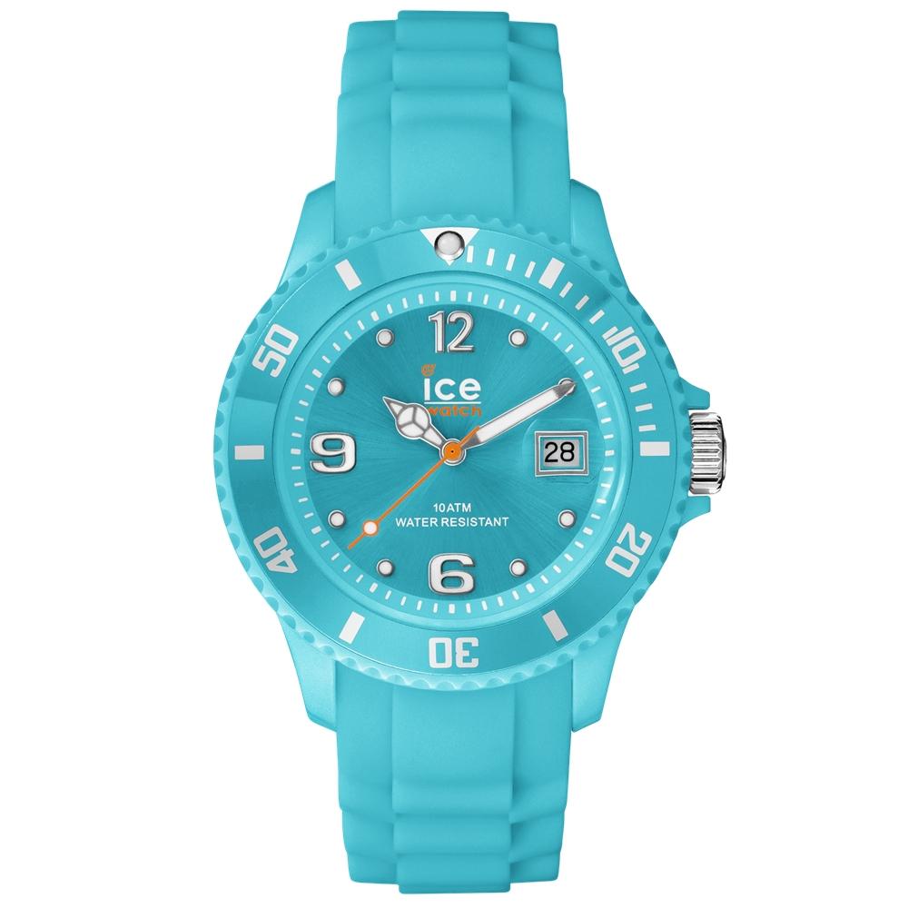 Ice-Watch 永恆系列 精工炫麗手錶-湖水綠/43mm