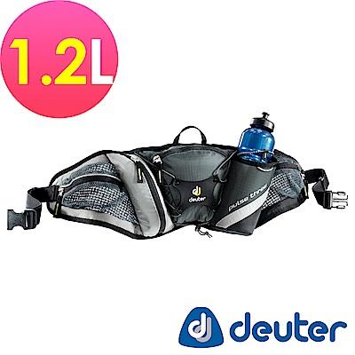 【ATUNAS 歐都納】德國DEUTER單車慢跑路跑隨身水壺腰包1.2L /39090灰黑