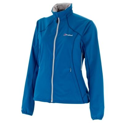 【Berghaus貝豪斯】女款WS抗風透氣SELLAⅡ外套H22FO1-藍
