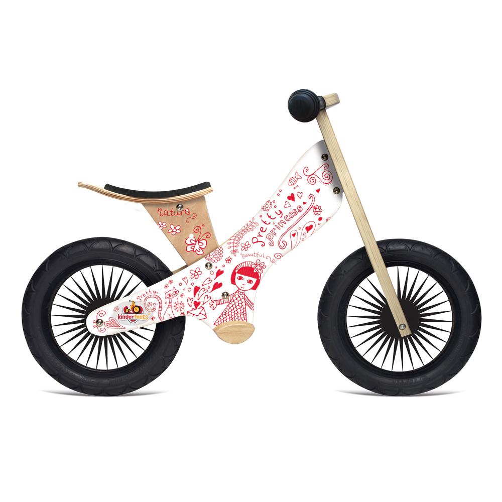 Kinderfeets 美國木製平衡滑步車(1Y-2Y)-英雄聯盟 (魔法少女)