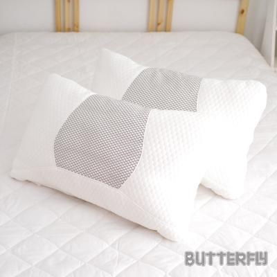 BUTTERFLY   蜂巢透氣釋壓枕 立體針織表布 台灣製造 二入組