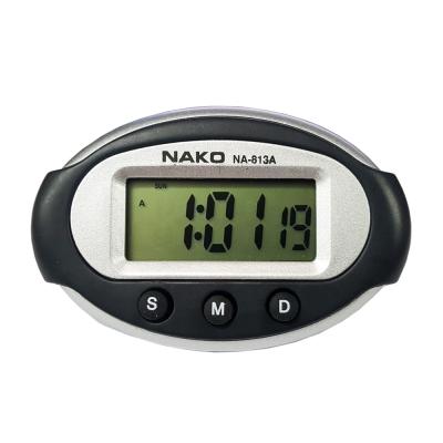 便利社 813A 汽車時鐘 鬧鐘 碼表三合一