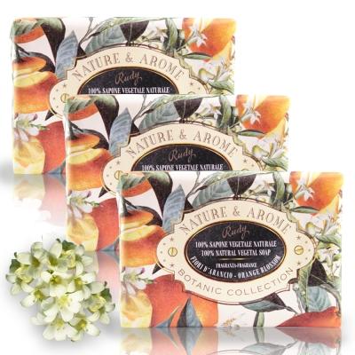 義大利Rudy米蘭古典橙花保濕香皂150g三入