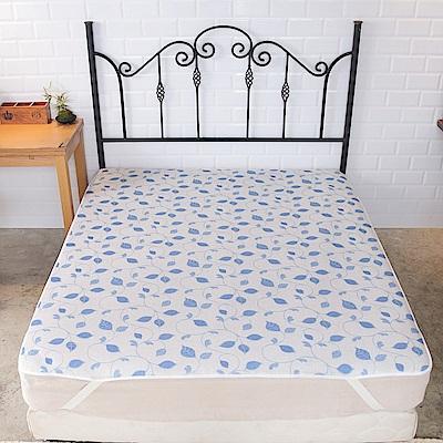 格藍傢飾 水洗速乾3D透氣床墊15mm-雙人加大(藤蔓)