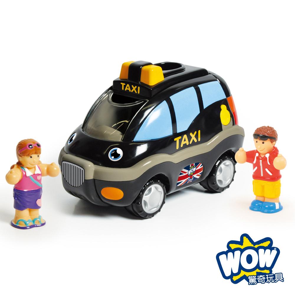 【WOW Toys 驚奇玩具】倫敦計程車 泰德