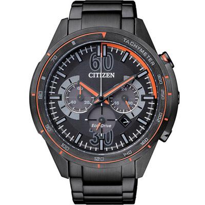 CITIZEN-型男時尚計時腕錶-CA4125-56E-黑-46mm