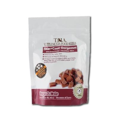 T.N.A.保健系列 皮毛好美麗-全效EPA/DHA毛髮保健強化營養錠80錠x2