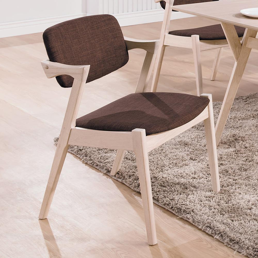 Bernice-芬頓北歐風餐椅/單椅(兩色可選)-51x55x78cm