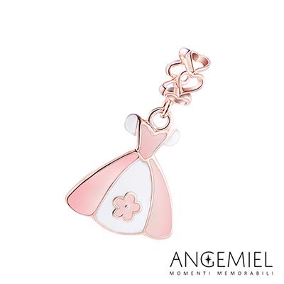 Angemiel安婕米串珠 925純銀吊飾 Dream童話系列 公主禮服