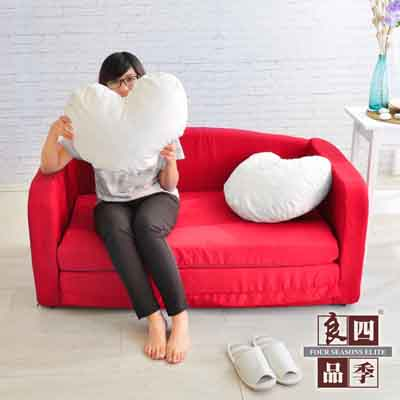 四季良品 浪漫傾心雙人沙發床
