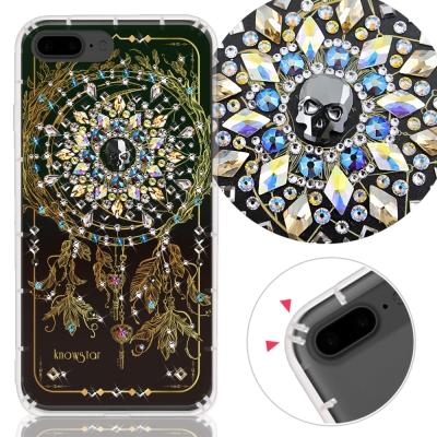 KnowStar APPLE iPhone7+/8+ 奧地利水晶彩繪防摔手機鑽殼...