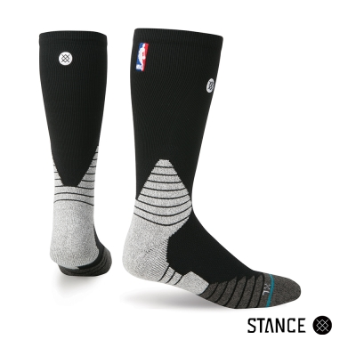 STANCE SOLID CREW-男襪-NBA賽事襪
