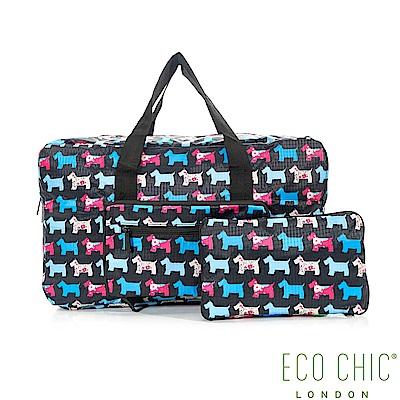 英國ECO CHIC折疊時尚旅行袋-雪納