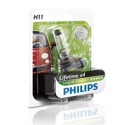 PHILIPS 飛利浦 四倍壽命環保車燈(H11)公司貨