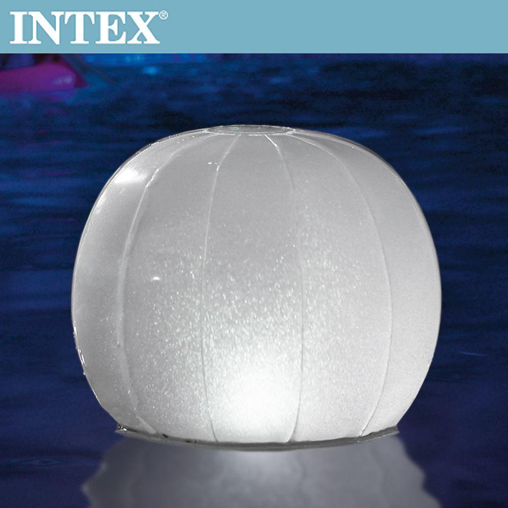 INTEX 戶外浮動多彩LED裝飾燈球/水上草地皆可(28693)