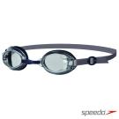 SPEEDO 成人基礎型泳鏡 Jet 深藍-透明