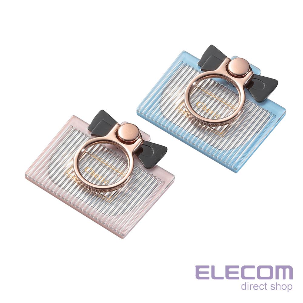 ELECOM 繽紛香水瓶造型附鏡手機立架 @ Y!購物