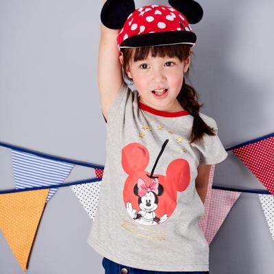 Disney 米妮系列蘋果短袖上衣 (共2色)