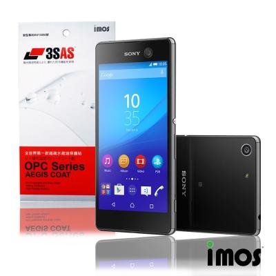 iMos 3SAS SONY Xperia M5(正面)超抗潑水疏油效果保護貼