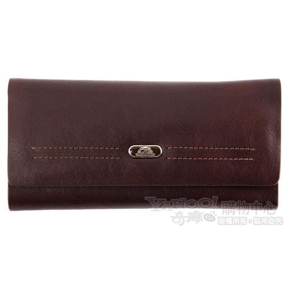 TONY PEROTTI 經典無車縫系列 公牛皮鑰匙包 #2804 ( 咖啡色 )