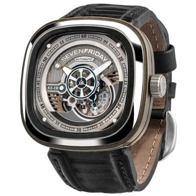 (無卡分期12期)SEVENFRIDAY S2 工業革命自動上鍊機械錶-47mm