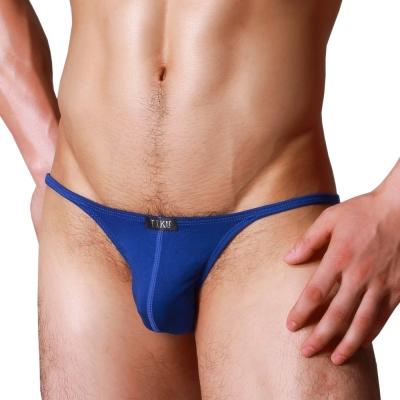 男內褲 夜店男孩 低腰三角男內褲 -藍 TIKU 梯酷