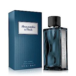 Abercrombie & Fitch 湛藍男性淡香水30ml