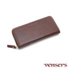 vensers 小牛皮潮流個性皮夾(NB0887509深棕長夾)