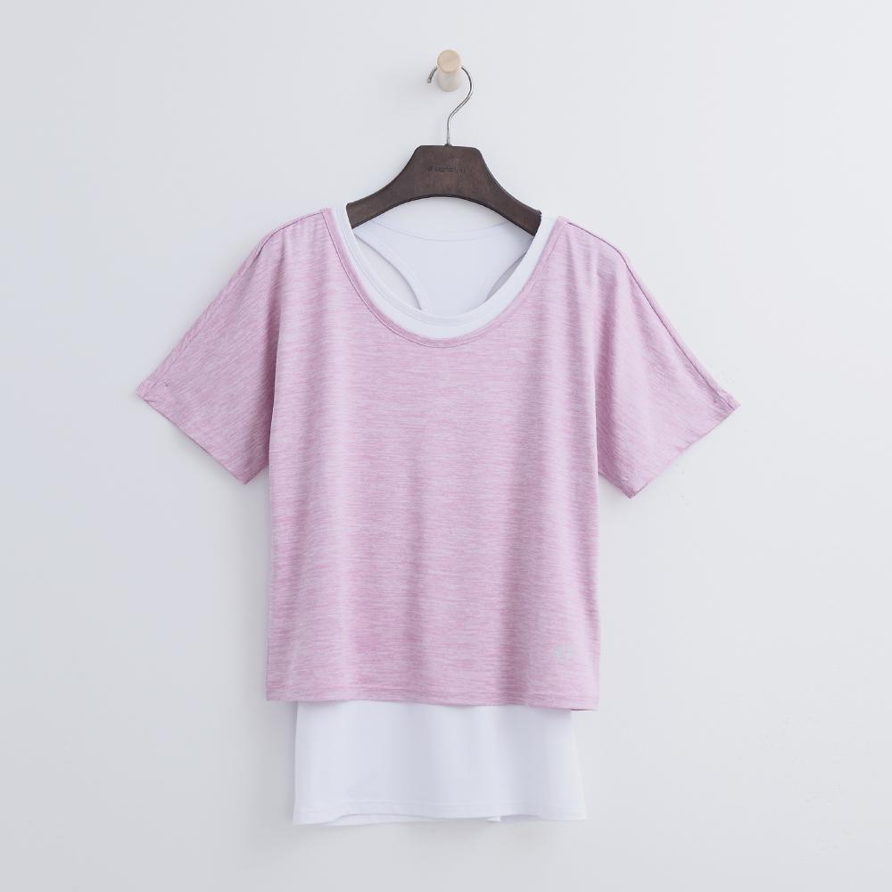Hang Ten - 女裝 - ThermoContro兩件式T恤-粉紅色