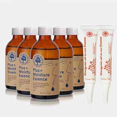 NatureTree保濕精華液5入組贈金盞花全效精華霜