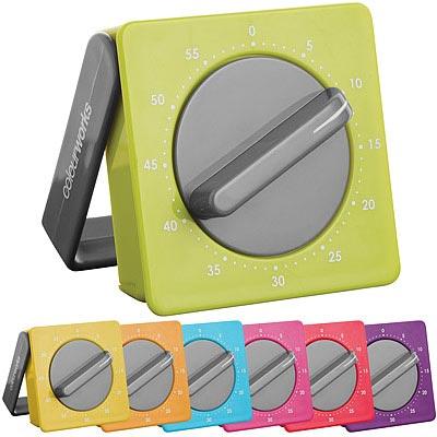 KitchenCraft 磁吸方型發條計時器