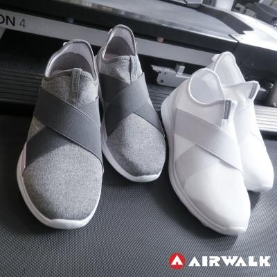 美國 AIRWALK百搭舒適休閒鞋帆布鞋  女(灰色)