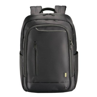 【SUMDEX】都會商務肩背15.6吋電腦包(黑) PON-160BK