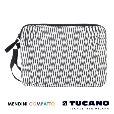 TUCANO X MENDINI 設計師系列輕量手拿包-白