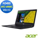 Acer A114-31-C7F0 14吋筆電(N3450/2G/64G