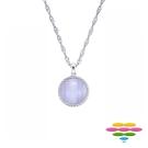彩糖鑽工坊 紫瑪瑙Purple Agate項鍊