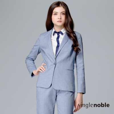 獨身貴族-收腰單釦西裝外套-2色