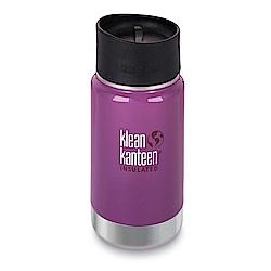 美國Klean Kanteen寬口保溫鋼瓶355ml-紫葡萄