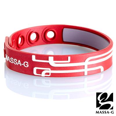 紅白比例鍺鈦手環