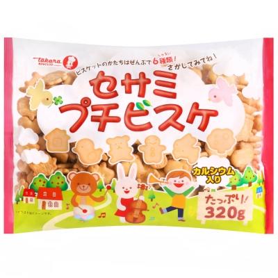 寶製果 歡樂森林動物造型綜合餅乾(265g)