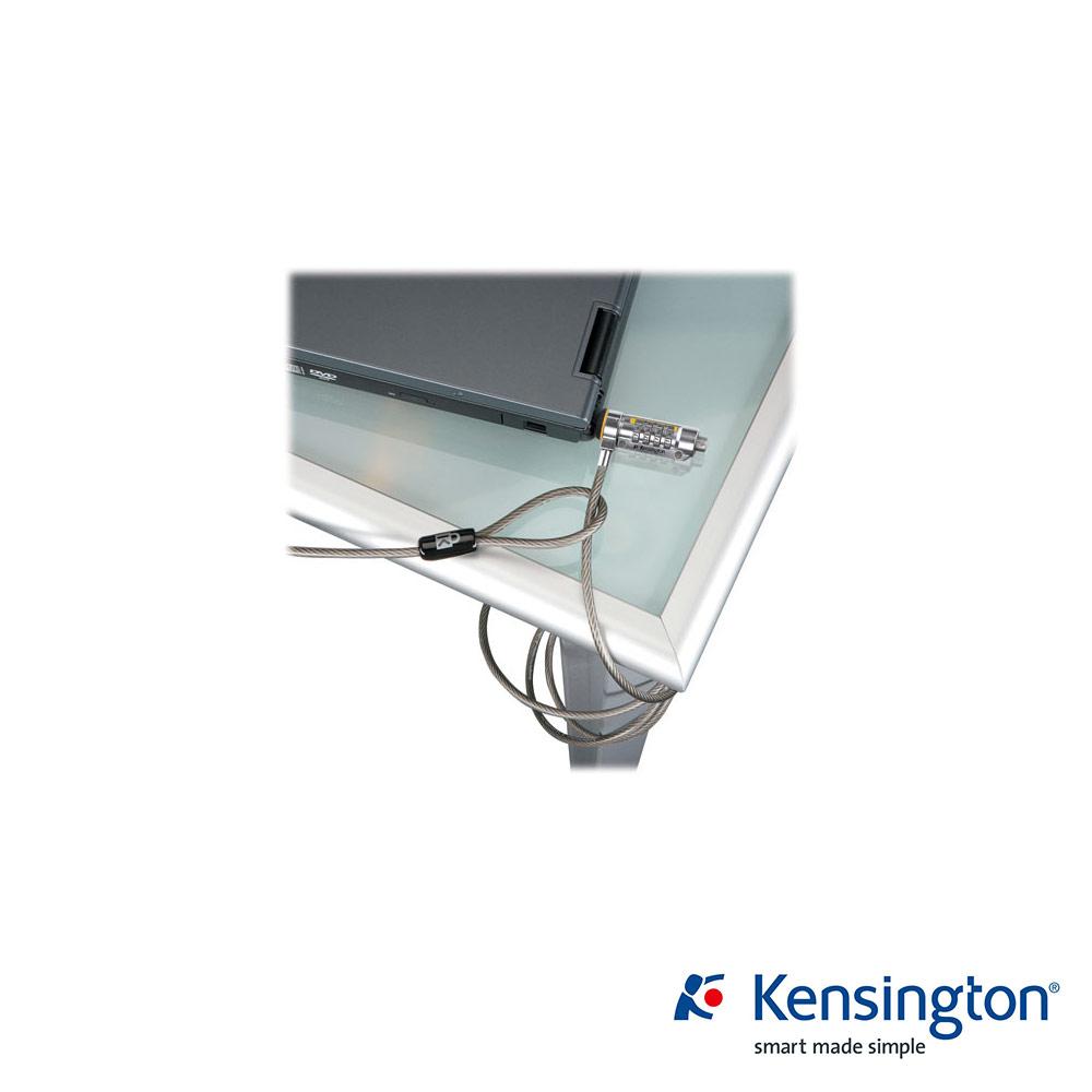 Kensington ComboSaver® 行動型鋼纜密碼電腦鎖