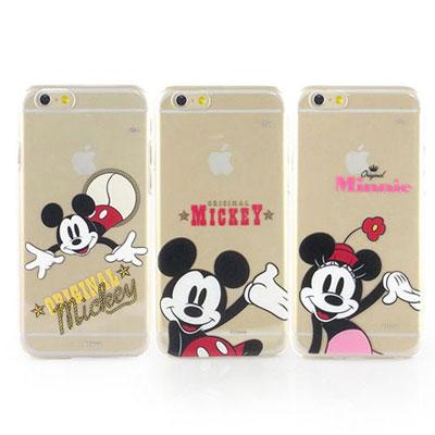 Disney iphone 6 /6s 經典透明保護手機殼