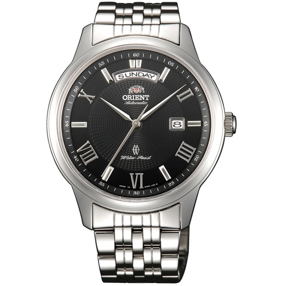 ORIENT 東方錶 WILD CALENDAR系列寬幅日曆機械錶(SEV0P002B)