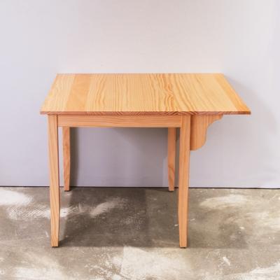 CiS自然行實木家具-單邊實木延伸桌74~98cm(溫暖柚木色)