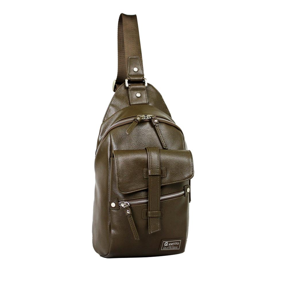 estilo - 印地安II系列 豪放氣勢 直式單肩包 - 綠色