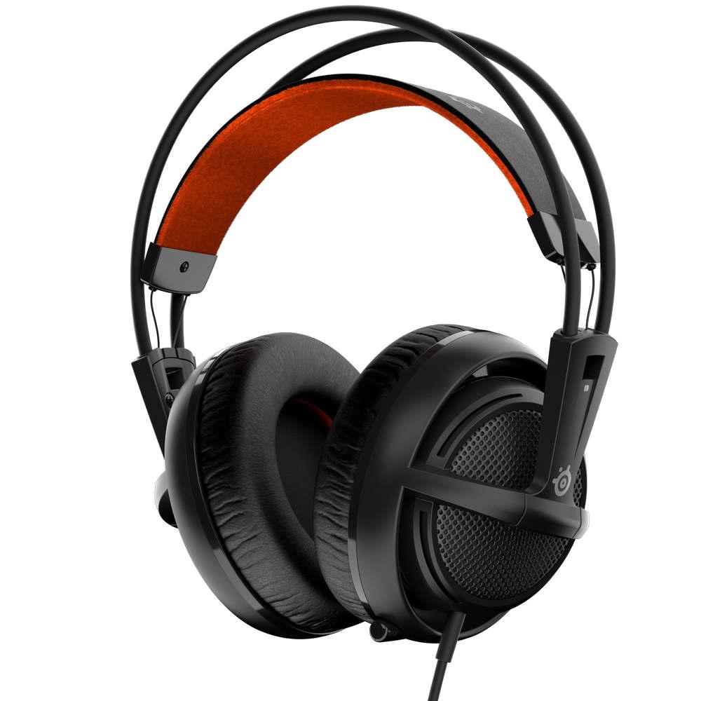 SteelSeries 賽睿 西伯利亞200 耳機麥克風 (黑色)