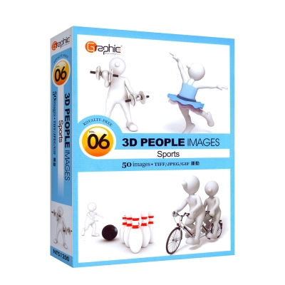 3D-PEOPLE-運動-06-買一送一